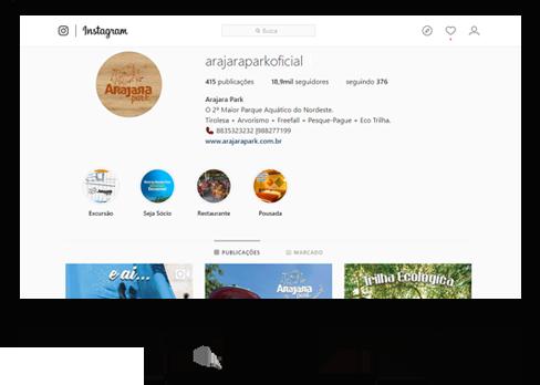 Instagram do Arajara Park