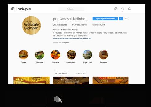 Instagram da Pousada Soldadinho do Araripe